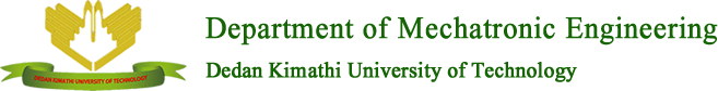 Department of Mechatronic Engineering Logo